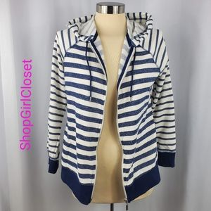 🆕️Style & Co Zip Up Hoodie - Blue & White
